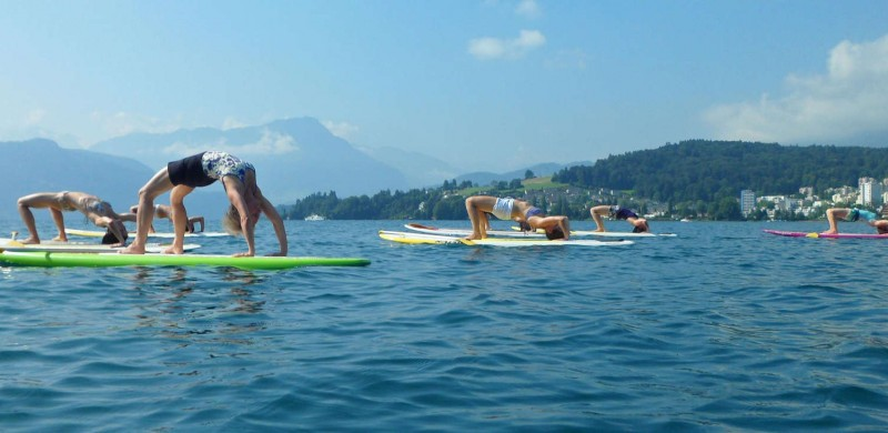 SUP Yoga Panorama