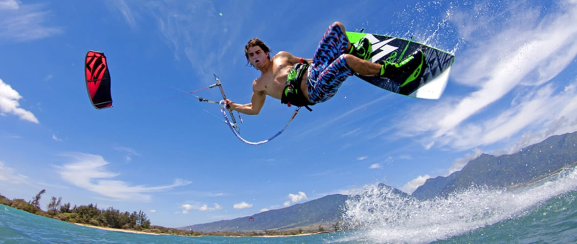 Slide 3 Kiteboarding