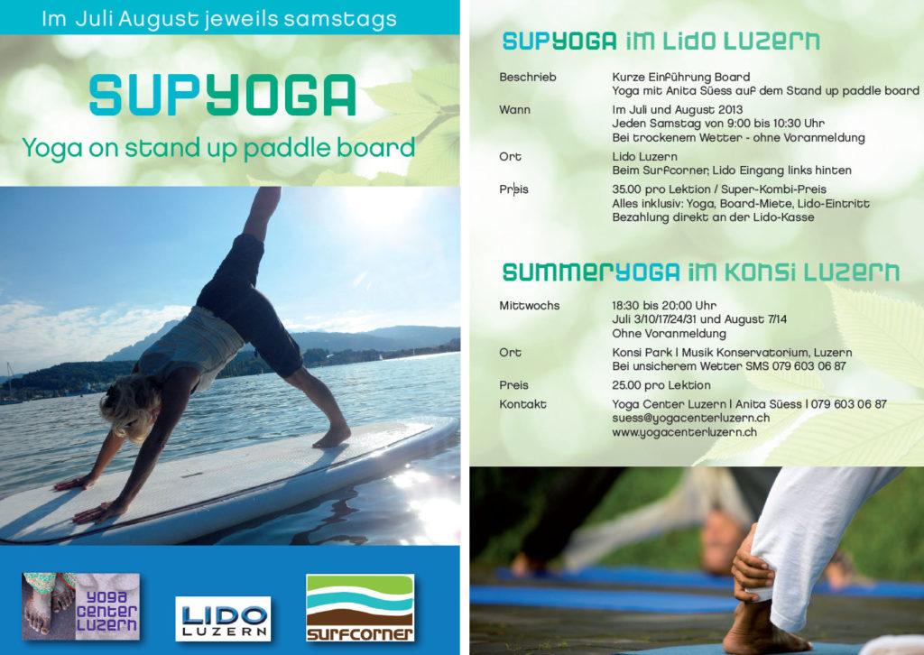 SUP Yoga Flyer